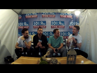Bastille Interview at Lollapalooza 2016