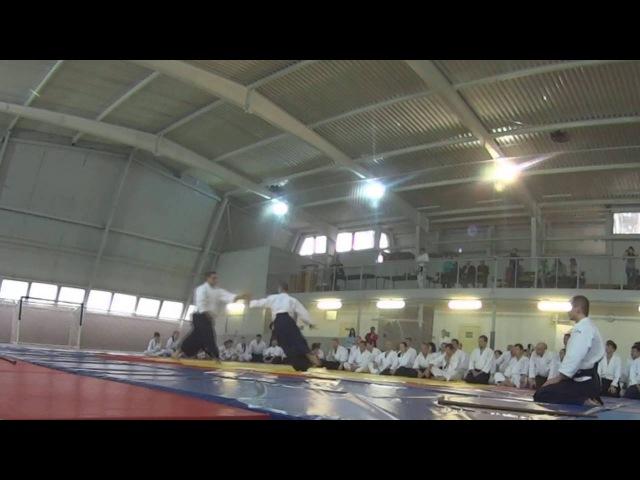 Travaglini Roberto Sensei - Aikido Demonstration - Pskov Seminar 2016