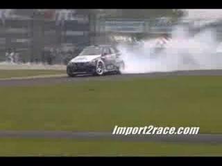 Drifting Lexus IS350 turbo Driver Hiro Sumida