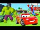 Мультик для самых маленьких Человек Паук спасает Халка Видео для детей Песенки на английском