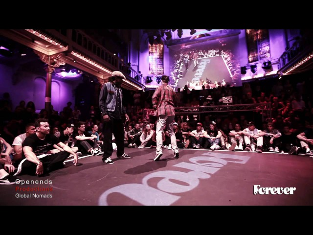 Judge Battle Yanay vs Monstapop Popping Forever 2013