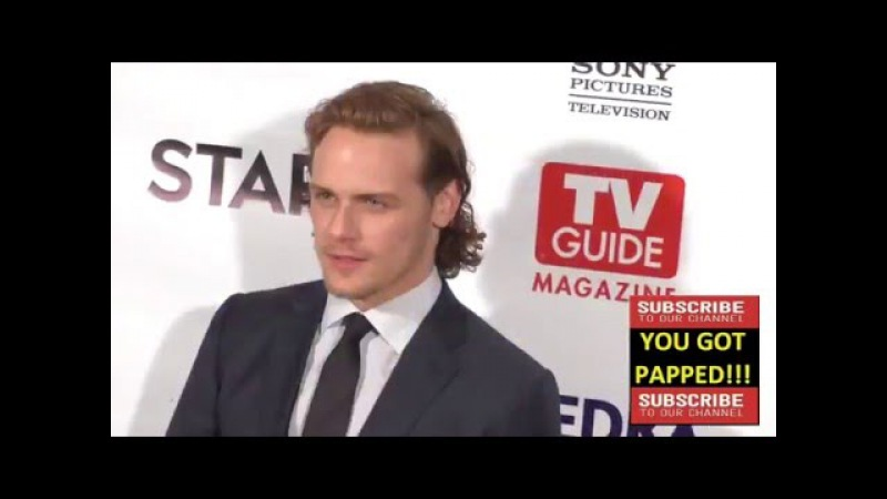 Sam Heughan at the TV Guide Magazine Celebrates STARZ's Outlander at Pailhouse in West Hollywood