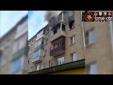 18+Прыжок семьи с детьми из окна горящей пятиэтажки сняли на видео под Владимиром