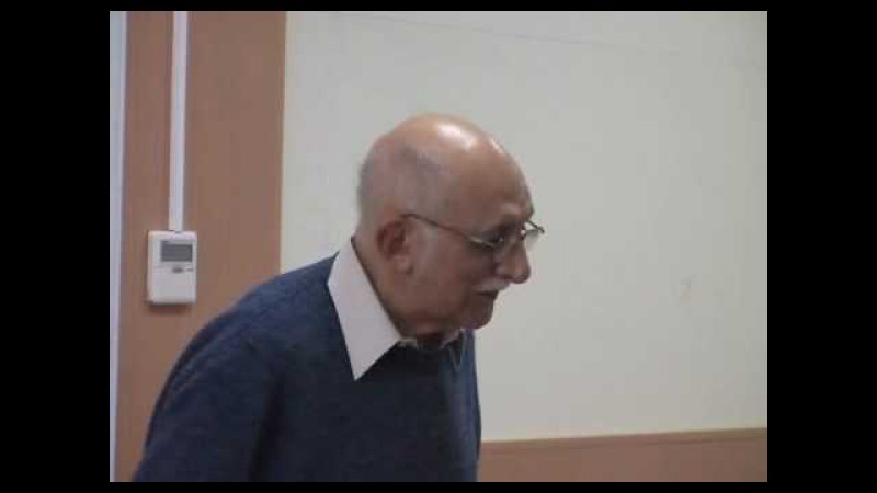А. М. Пятигорский, Лекции по философии, 12.04.2007, 1 часть