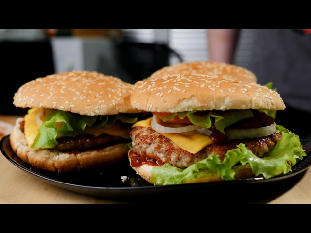 Рецепт божественного домашнего гамбургера » Freewka.com - Смотреть онлайн в хорощем качестве
