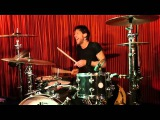 DANKO JONES - DRUM SOLO BY ATOM WILLARD - AT THE CASBAH, HAMILTON OCTOBER 2012