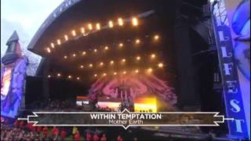 Within Temptation Tarja Live at Hellfest 2016