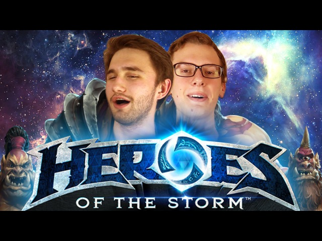 МУЖСКОЕ СЛИЯНИЕ В ЧО'ГАЛЛА - Heroes of the Storm