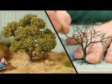 Wire Tree Tutorial Model Railroad