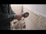 Как отрезать узкую полоску плитки