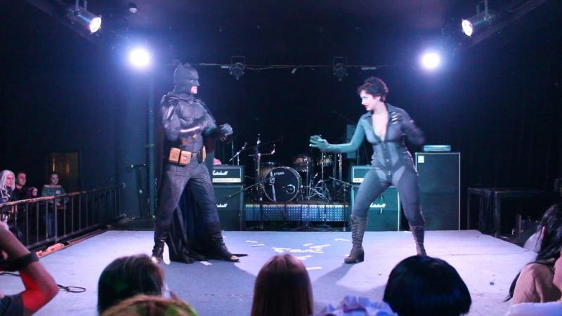 Алексей Котолевский Valeriya DarkElf Бэтмен персонажи Бэтмен и Женщина Кошка Cosplay Rush vol 14