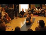 Акро-йога. Показательное выступление. Алевтина Ротова, Елена Антонова, Катерина Картушина