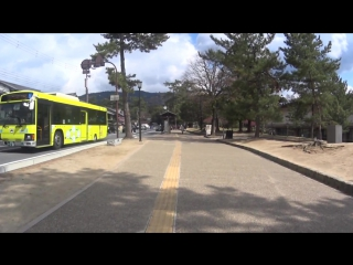 Walkabout japan - nara city 2015  [binaural audio - wear headphones for 3d]