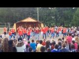 Саноторий им.Чехова, 2 смена 2016 танец вожатых
