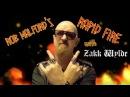 Zakk Wylde - Rob Halford's Rapid Fire
