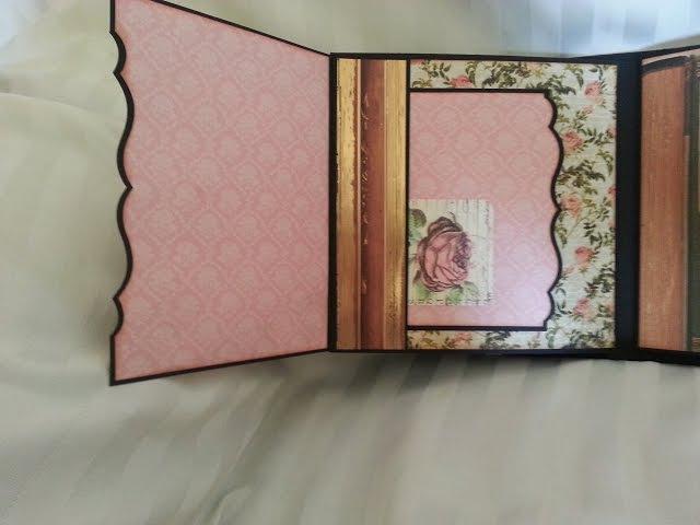 Mini album 8 x 8 Dear Jane