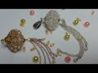 Мастер класс. Плетеная бусина./Master Class. Wicker bead.