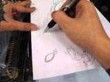 鯉魚畫法教學~花魁彫任刺青 (新)Taiwan HwaKwe Tattoo Carp drawing method