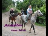 Крым отдых 2016, отзывы Демерджи, конный клуб Золотая подкова