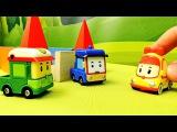 Машинки из мультика Робокар Поли - История в лабиринте машинок Роди и Бени. Robocar Poli Toys