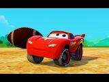 Мультик про гонки для мальчиков Дисней Тачки Молния Маквин Lightning McQueen Disney Pixar Cars