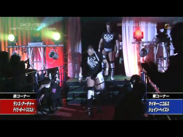 {NOAH} GHC Tag Team Championship: (c)