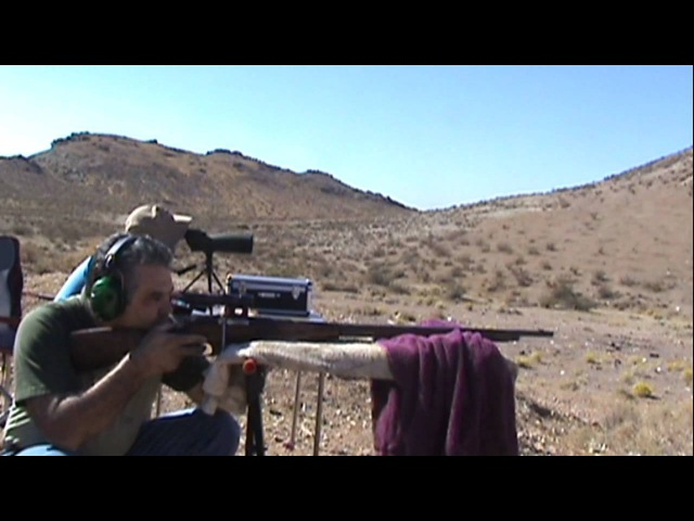 1,000 yards 1942 9130 Russian Mosin-Nagant (PU) sniper rifle