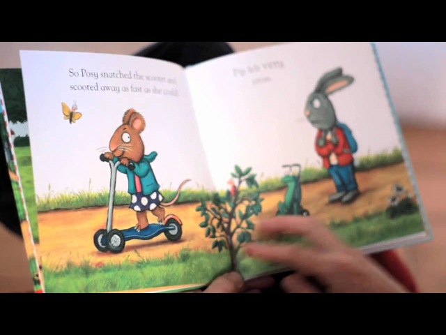 Illustrator Axel Scheffler reads from his new book