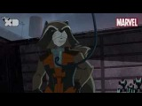 Guardians of The Galaxy  Rocket Raccoon Part 1  Official Disney XD UK