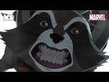 Guardians of The Galaxy  Rocket Raccoon Part 2  Official Disney XD UK