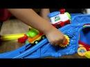 Go! Go! Smart Wheels Train Station Playset from Vtech kids toy review spanish and english