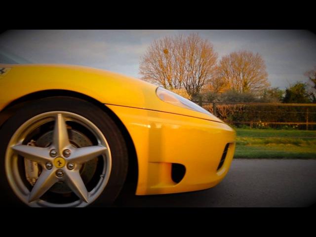 Part 1 Ferrari 360 Modena Yellow F1 Tubi Competition Exhaust SuperKars GB Super Kars GB