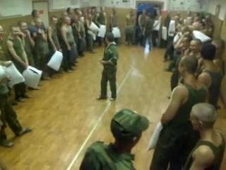 Массовая драка в армии