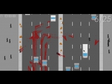 Флеш-игры #1 Let's Go Jaywalking Кровищя D