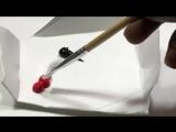 Optical Illusion Drawing - Trick Art
