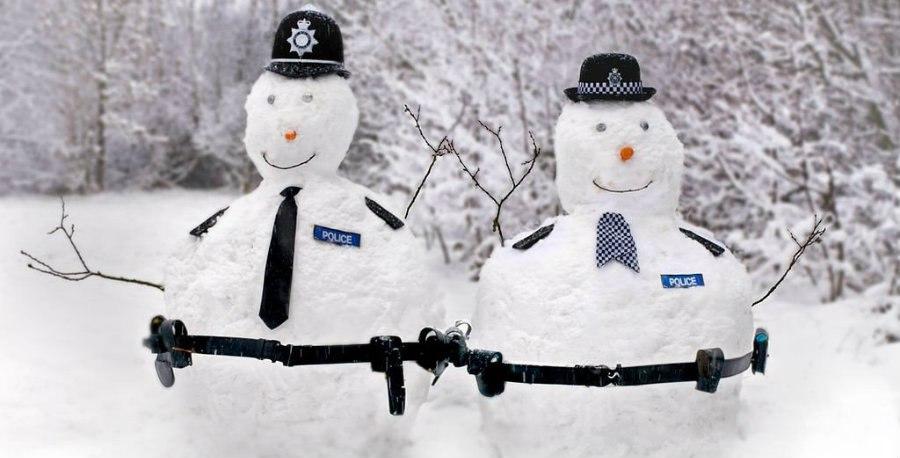 Самые чумовые снеговики специально для студентов