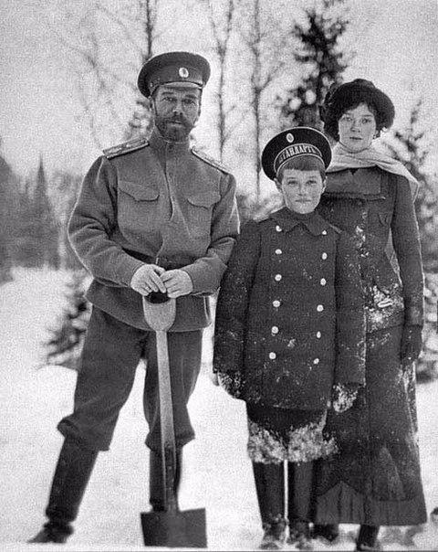 Император и его семья.
