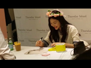 [160318] Sulli at Thursday Island fansigning event [14]