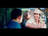 Забавная сцена из фильма Герой с плаката - встреча с Салманом Кханом