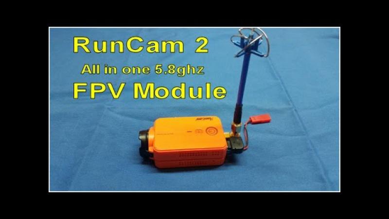 Встроенный в RunCam 2 видеопередатчик RunCam 2, 5.8GHz Module