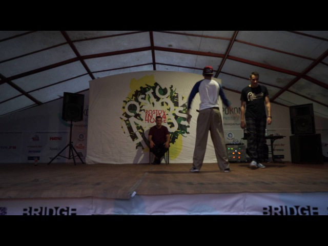 Timon vs Vladover | Popping 1\2 | Rostov In Da House