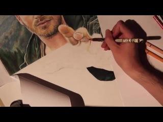 Kivanc Tatlitug 3D drawing by Emre Aydin
