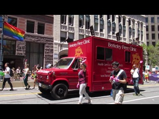 San Francisco Pride Parade 2016 Berkeley Free Clinic Gay Men's Health Collective
