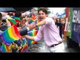 Justin Trudeau at Toronto Gay Pride Parade 2016