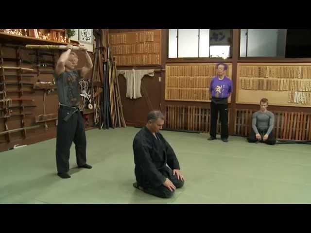 Ninja Godan Test 5th Degree Black Belt Ninja Grandmaster Masaaki Hatsumi Sensei Bujinkan Ninjutsu