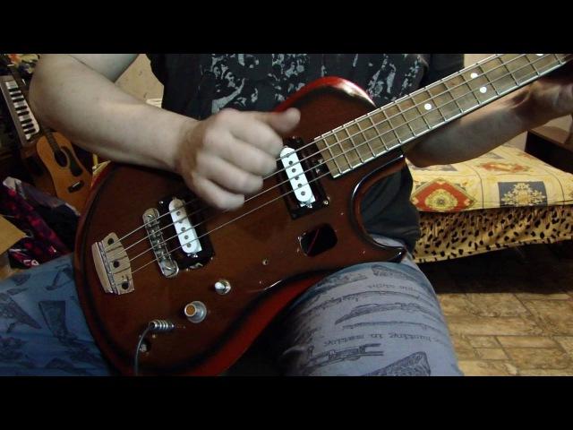 Ural bass slap. Бас Урал. Слэп.