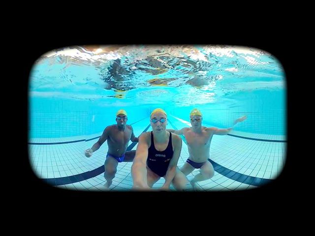 Simma med Stjärnorna VR/360-film (for English, turn on subtitle)