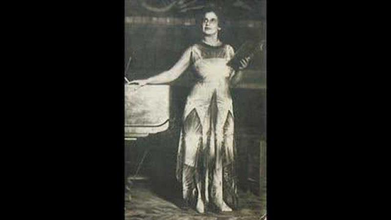 Valeria Barsova- Snegurochka's aria (Rimsky-Korsakoff)