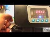 настройка блока RUNXIN F63 B3 для фильтрации и умягчения воды
