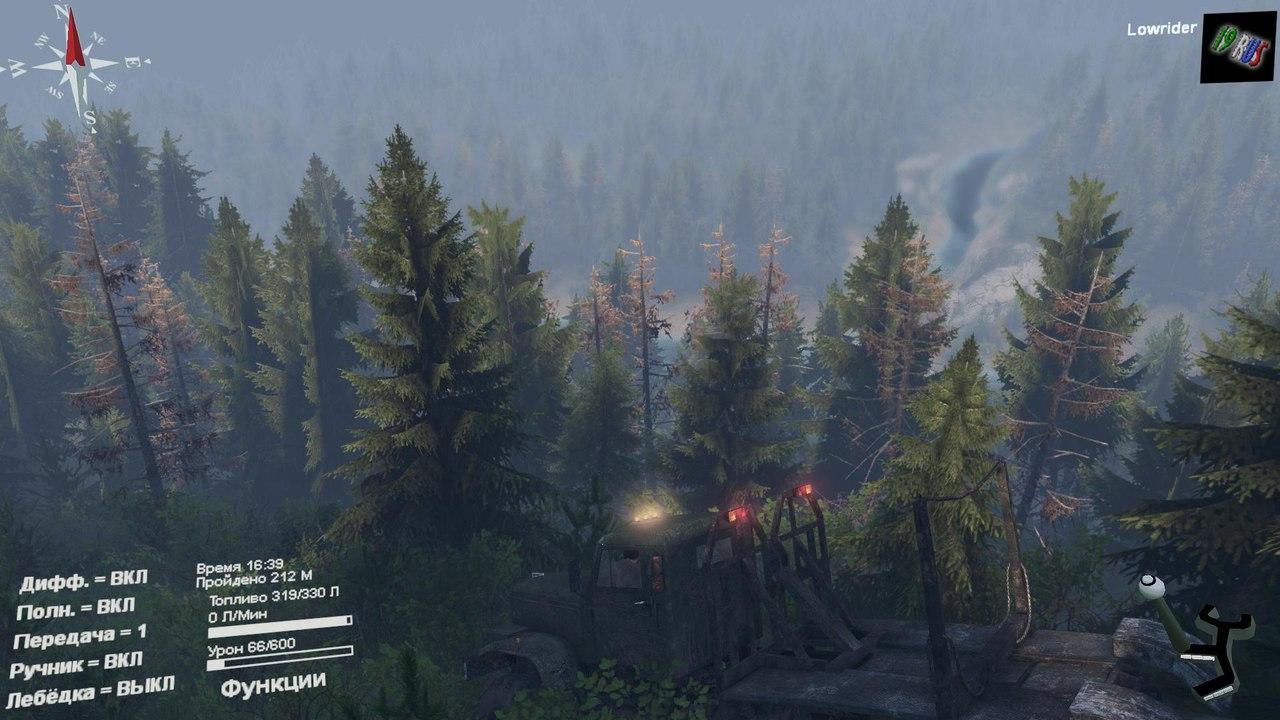 """Карта """"Level_19rus"""" для 25.12.15 для Spintires - Скриншот 2"""